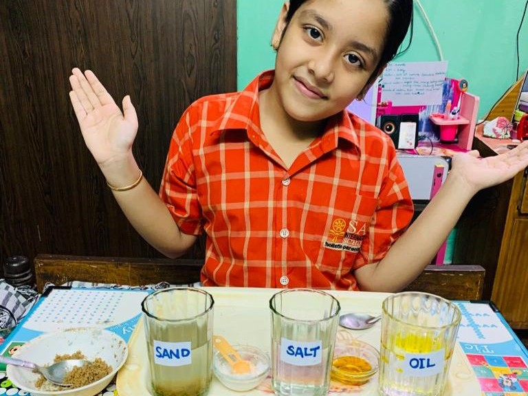 Studying Importance of Sand Soil Oil | Sai Angan